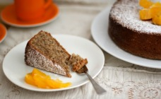 Nutty orange cake